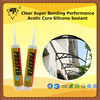 Clear Super Bonding Performance Acetic Cure Silicone Sealant