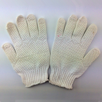 free sample car pvc dotted disposable hand gloves
