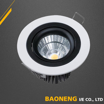 High Lumen 90Lm / W Flush Mount 5W Ceiling LED Fixtures With CE RoHS