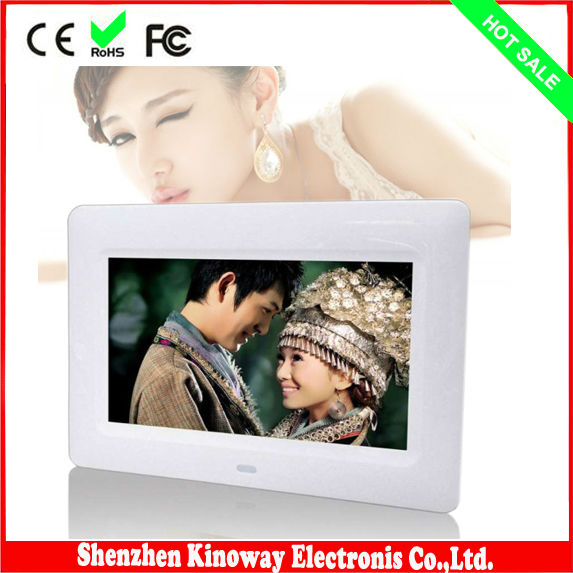 7 inch digital photos frame video 800*480