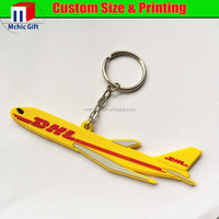 custom cheap soft pvc rubber key chain promotional gifts