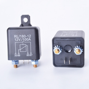 Start relay RL180 100A 200A 12V 24V Power Automotive Relay Heavy High  Current Starting car relay