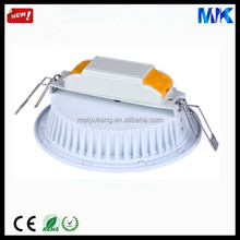 modern design white color Magnesium alloy LED downlight heatsink led down light accessroies supplier