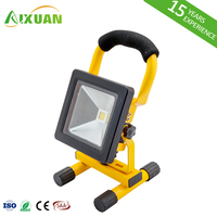 Ultra Slim IP65 Portable Battery 10W 20W 30W 50W Outdoor Rechargeable LED Flood Light