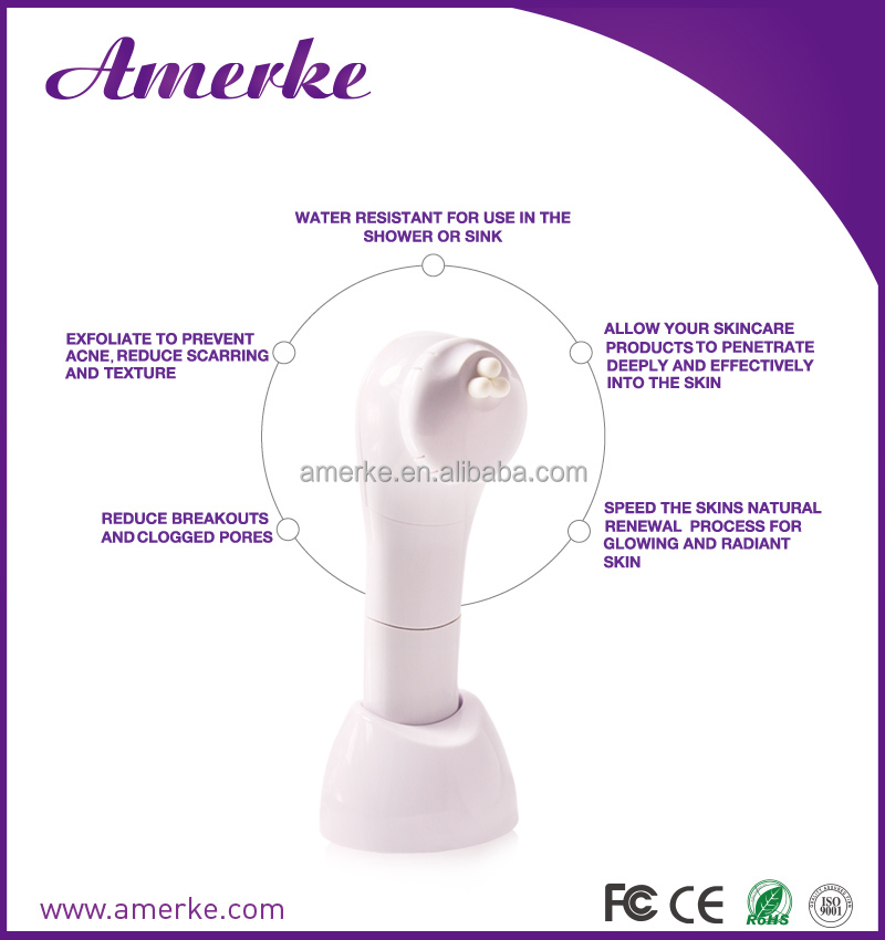 Amerke AMB208 facial brush machine makeup remover multifuntional electric facial cleansing brush