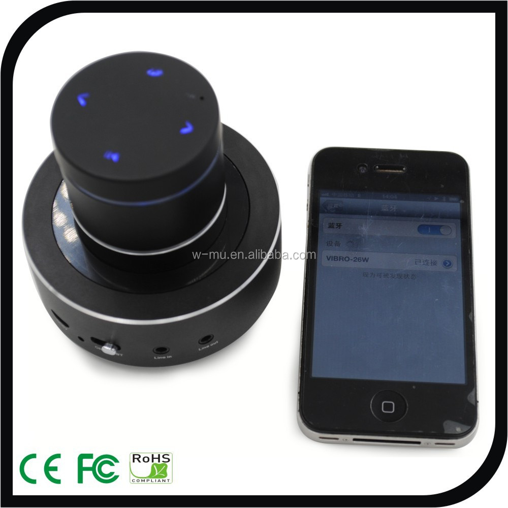 Home Entertainment Indoor Vibration Speaker Line in & Line out for Smart TV, Mobile Bluetooth Connection