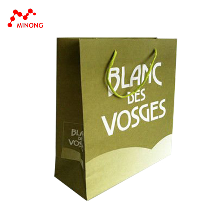 Wholesale OEM cheap gloss laminated paper bag