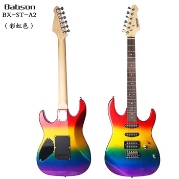 컬러 풀 한 electric guitar 광주 공장 custom diy electric guitar