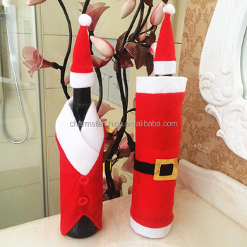 Promotional Gift Of Christmas Dinner Table Decoration Red Santa ...