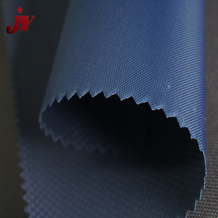 Hangzhou JY Top quality DTY denier 600d oxford polyester fabric with pvc coating for luggage use
