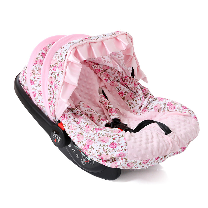 cotton fur printed pink floral funny car seat covers buy funny car seat covers leather car. Black Bedroom Furniture Sets. Home Design Ideas