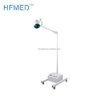Gooseneck And Five Wheels Style Medical Halogen Examination Lamp