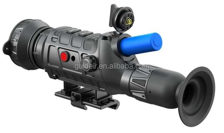 Dual Use in Day and Night Outdoor Infrared Thermal Riflescope for Long Range Hunting