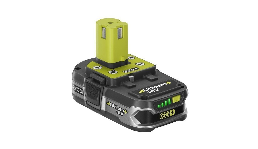 2PCS Ryobi Lithium Ion Battery P107 18V 18 VOLT One+28Wh Compact Lithium Ion Battery W/ Fuel Gauge