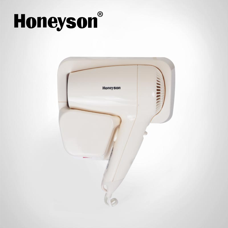 Honeyson 2018 best professional hotel wall mounted hairdryers фото