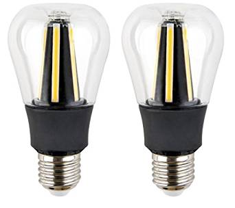Cheap natural light commercial find natural light commercial deals get quotations retro style dimmable led a19 light bulb 60w equivalent ul listed led filament 8w mozeypictures Image collections
