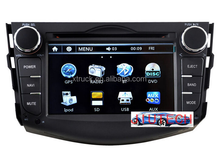 Car DVD Player for Toyota RAV4 Autoradio Stereo Headunit Radio Car GPS Navigation System WinCE 6.0 Bluetooth A2DP Radio iPod