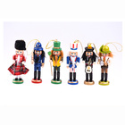 Traditional folk arts and crafts wooden nutcrackers Christmas gift christmas nutcracker soldier wooden nutcracker