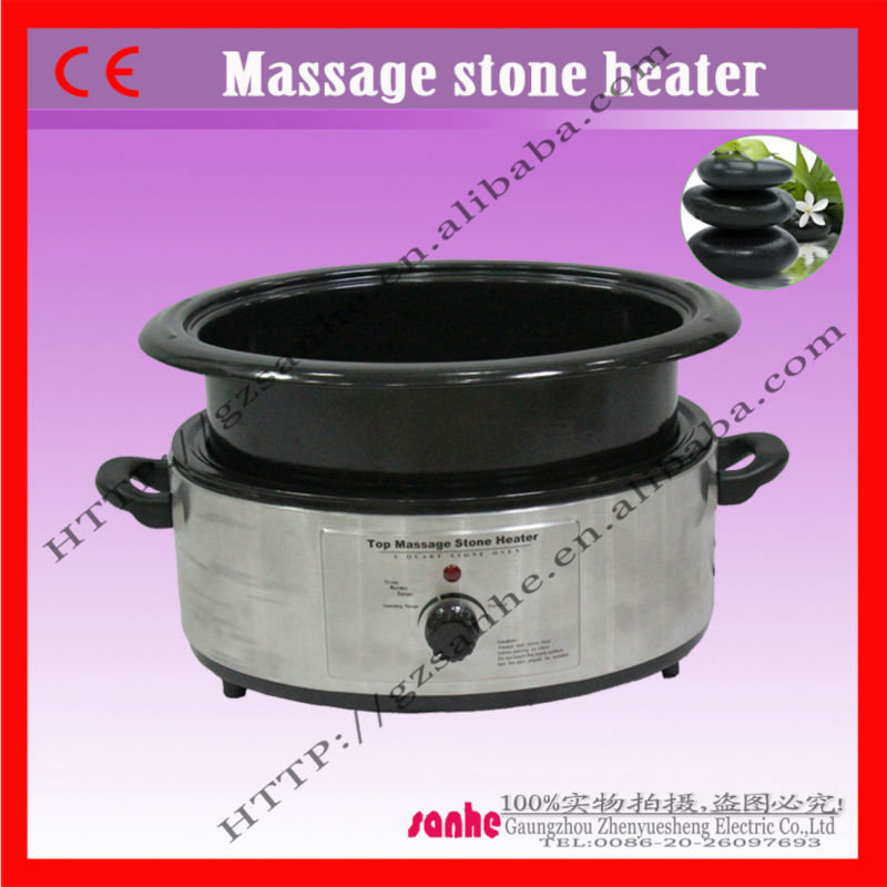 Spa or hone use electric hot natural stone heaters