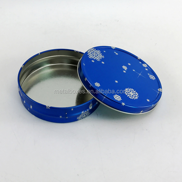 China Wholesale Metal Round Lip Balm Container Cosmetic Packaging Boxes