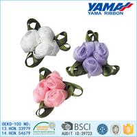 Designs of handmade silk ribbon flowers for sale