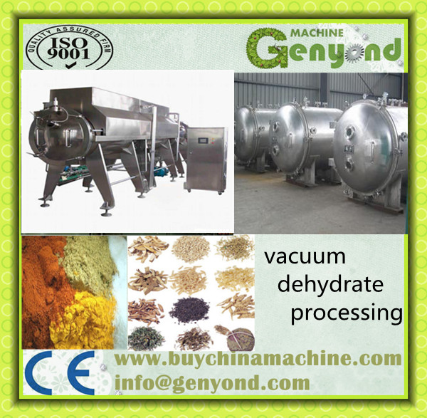 Food vacuum dehydrator/Industrial Dehydrater/Vegetable Dehydrato