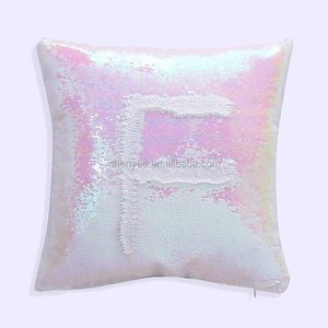 Chinese Manufactory Fancy High Quality Variety Design PET Reversible Sequins Mermaid Sun Shaped Cushion Neck Pillow