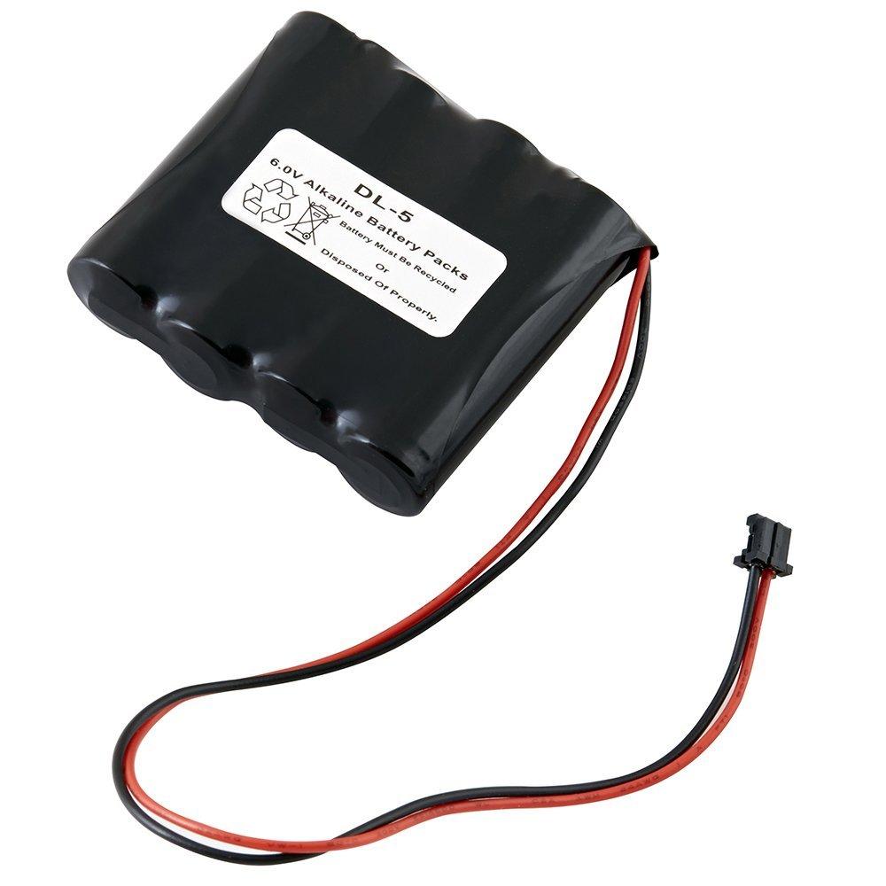 DL-5 6V 2200mAh Door Lock Battery Pack for Room Safe - Room Safe
