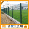 2014 polyester painting RAL 9005 welded mesh fence,beautiful garden fence prices