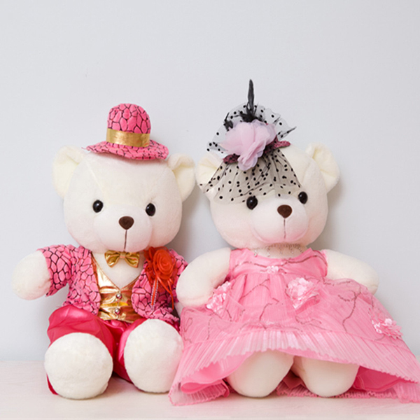 Lovely Baby Toys Dollcute Romantic Beautiful Hat And Clothes Plush