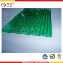 OEM film brand Lexan sheet one layer polycarbonate hollow sheet canopies for houses