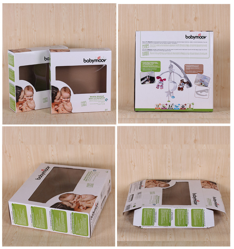 Hot Selling Custom Corrugated Cardboard Paper Box Packaging With Window