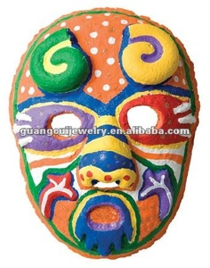 fashion party mask design 2014 custom plastic DIY mask