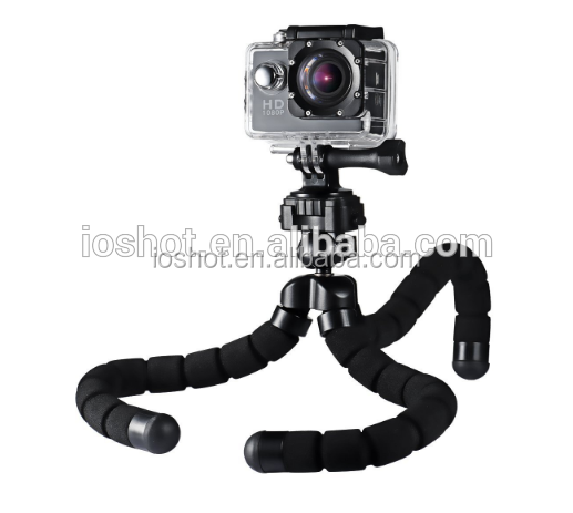 wholesale popular portable mobile & camera tripod with sponge mini flexible tripod