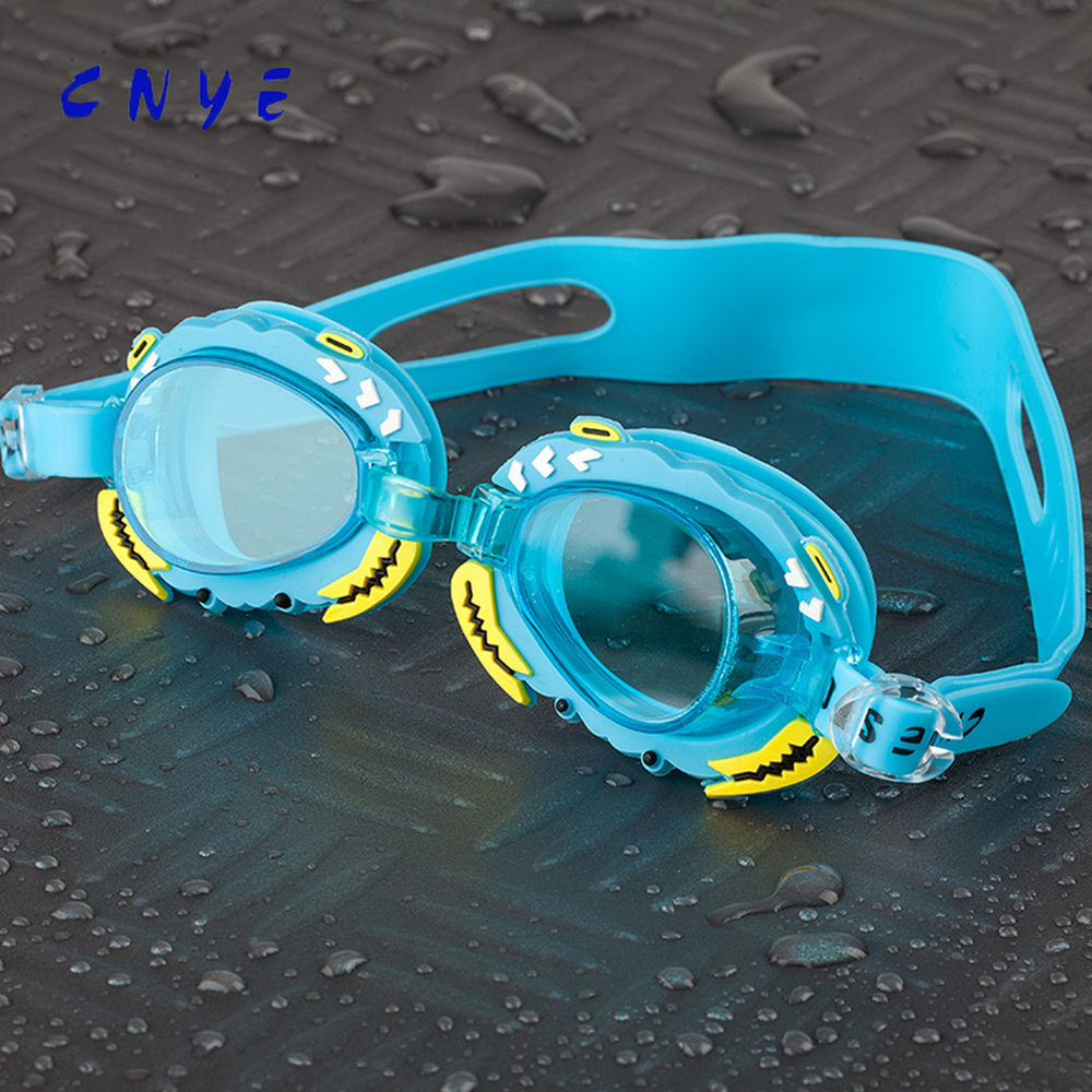 2016 novelty kids swimming goggles with Colorful swimming glasses