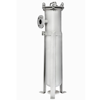 wine filter stainless steel Bag filtration housing/ metal filter equipment for winery