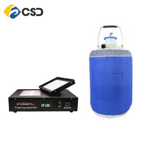 Mini Lcd Frozen separator liquid nitrogen mobile lcd freeze separator  machine