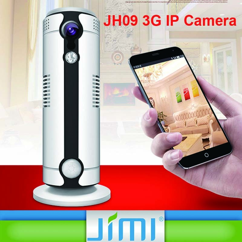 Portable 3G IP Camera with night vision and motion detection 1MP h.264 video recording 1080p security camera