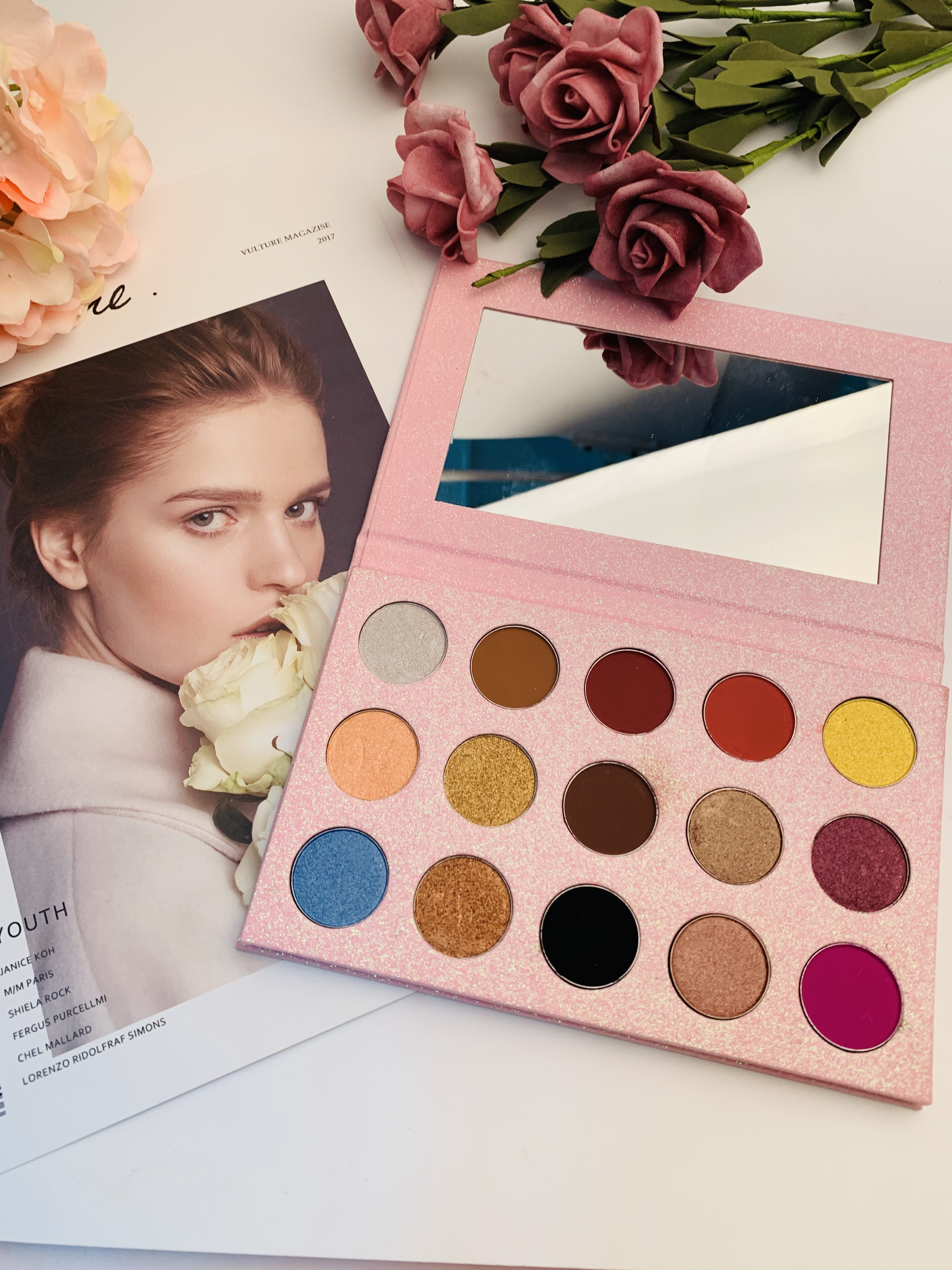 Custom Lege Eyeshadow Palette Private Label Maquillaje Make-Up