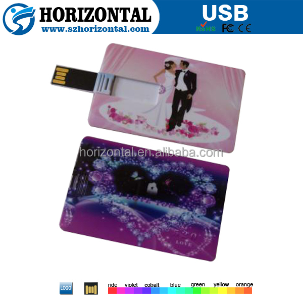 Alibaba express wedding invitation card 1gb usb flash drive wholesale