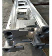 Galvanized welded Haki system tubular material Scaffold grouser bar deluxe safety panel scaffold bse plate