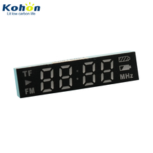ROHS Genehmigt KHN403224AUR1H vierstellige 0,32 zoll <span class=keywords><strong>TF</strong></span>/FM Rote farbe 7 segment display für Radio Mp3-player