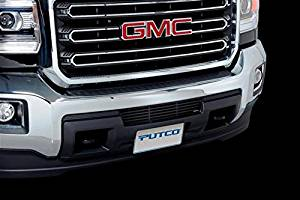 Putco Black Stainless Steel Bar Bumper Grille Insert for 2015 GMC Sierra HD