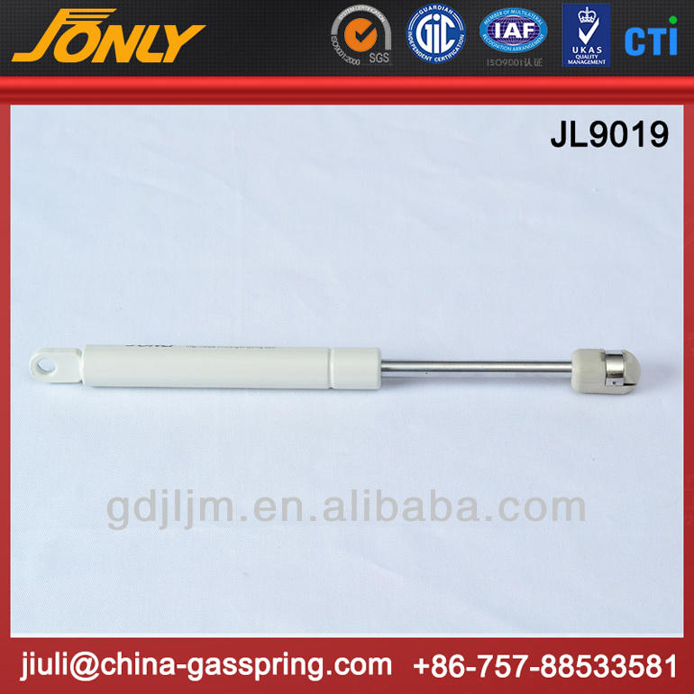 High tension extension hydraulic gas strut for medical apparatus