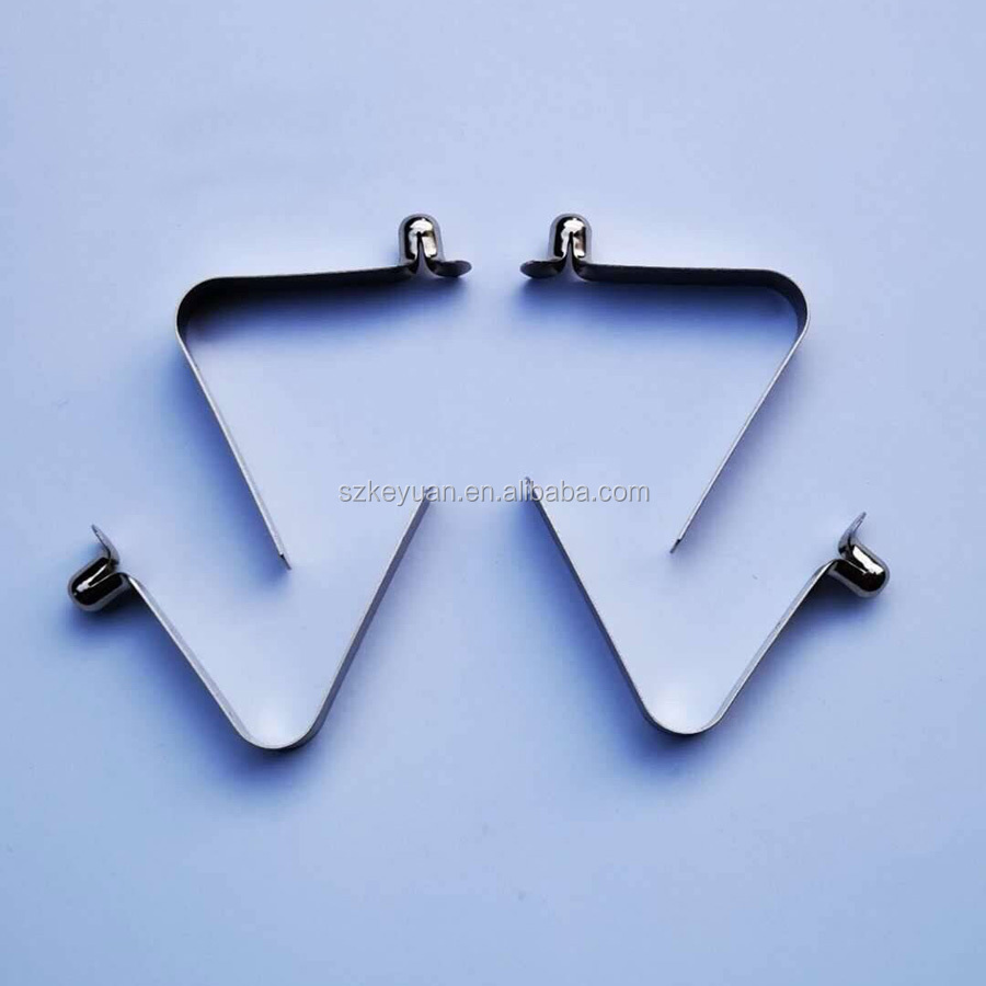 Various spring clip types Stainless Steel Kayak Paddle Tent Pole Clips, Spring Clip Button