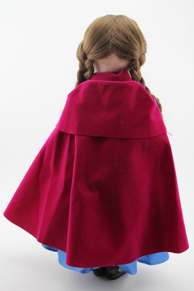 Nieuwe mode 18inch amerikaans meisje pop kleding kleren anna modelin bevroren poppen product id - Mode stijl amerikaans ...