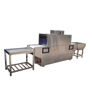 High efficiency Commercial Restaurant and Hotel Use Conveyor Dishwasher Machine / Dish washer