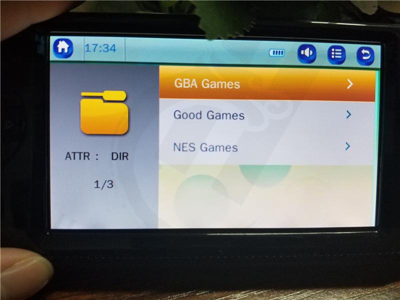 Nuevo Firmware 4 3 Pulgadas 8 Gb Retro Mini Handheld Consola De Juegos Para  Gba Fc Para Snes Para Sega Para Neogeo Retro Game Player - Buy Juego