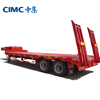 CIMC Low Price Excavator Transportation Trucks Trailer Car