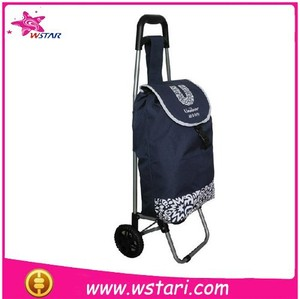 New Design Supermarket Dimension Shopping Trolley